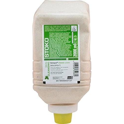Stoko 33282 Solopol natural Hautreinigung, 2000 mL Softflasche