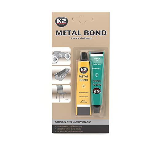 K2 Metallkleber,2 komponenten kleber metall, 2k Kleber Metall, Kleber Metall, Metall Kleber 2 Komponenten, 56g