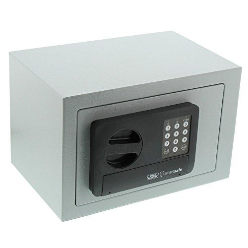 BURG-WÄCHTER Möbeltresor mit Zahlenschloss, Smart Safe 10 E, Grau