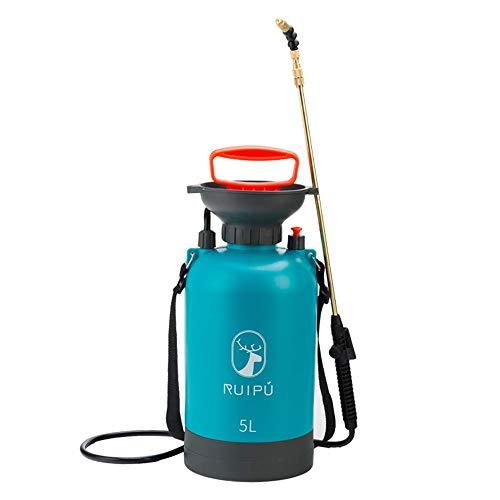 P/h/o/t/o Garten Sprayer, 360 ° Bieg- Und Einstellbare Rotierdüse/Easy Und Tragbare Handpumpe Sprayer, Beweglicher Sperrschalter/Ergonomischer Griff Entwurf, for Familie, 5L