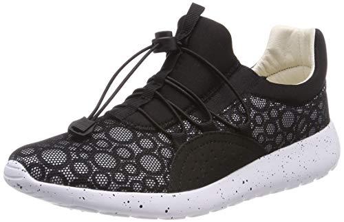 Romika Damen Victoria 01 Sneaker, Grey (Black), 39 EU