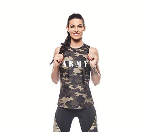 Excess Camiseta Deportiva Mujer Tank Top Tirantes Fitness Yoga Pilates Runnin Gimnasio...
