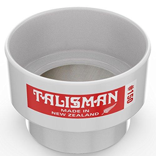 Talisman, Tamiz de prueba, 150 mallas, Para pequenas cuantidades de pintura y laca, Utilizable en laboratorios, 316 Mailla de acero, Hecha de policarbonado
