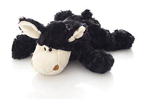 Hansen Plüsch Schaf schwarz liegend 28 cm