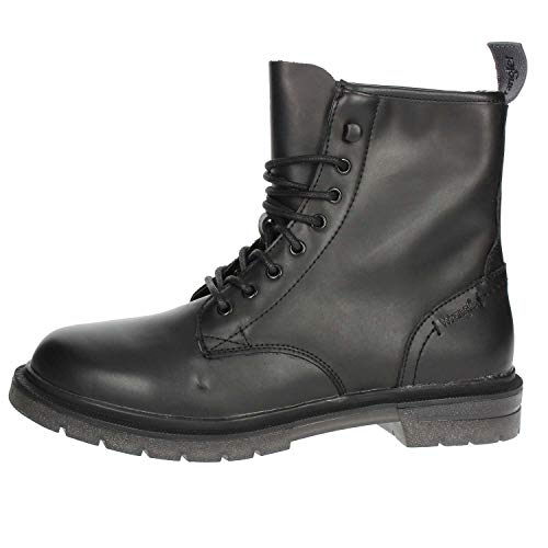 Wrangler WM182454 Botas Militares Hombre Negro 45