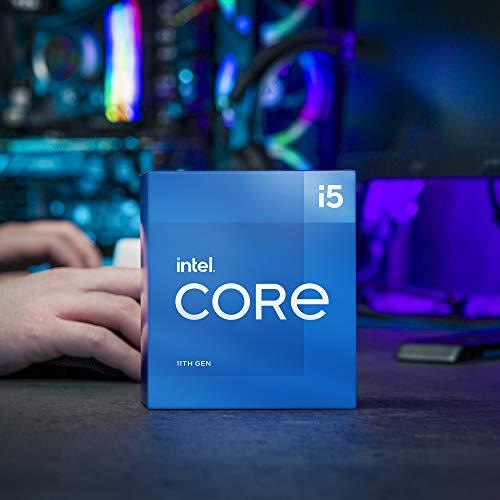 Intel Core i5-11500 Desktop Processor 6 Cores up to 4.6 GHz LGA1200 (Intel 500 Series & Select 400 Series Chipset) 65W
