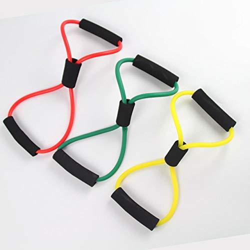 DJLHNGym 8 elastische Bänder für Brustentwickler, Gummi-Schlaufe, Latex, Fitness-Ausrüstung, Stretch-Yoga-Training – 3, Spanien