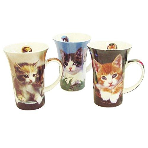 Ribelli Kaffeebecher Porzellan 400 ml Becher Teebecher Tasse Kaffeetasse Teetasse