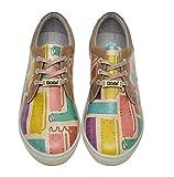 DOGO Zapatos Multicolor para mujer, (SunshiÝne), 40 EU