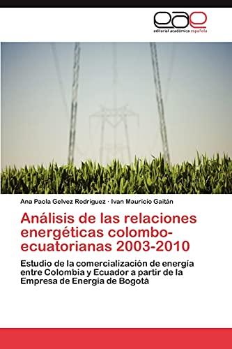 Analisis de Las Relaciones Energeticas...