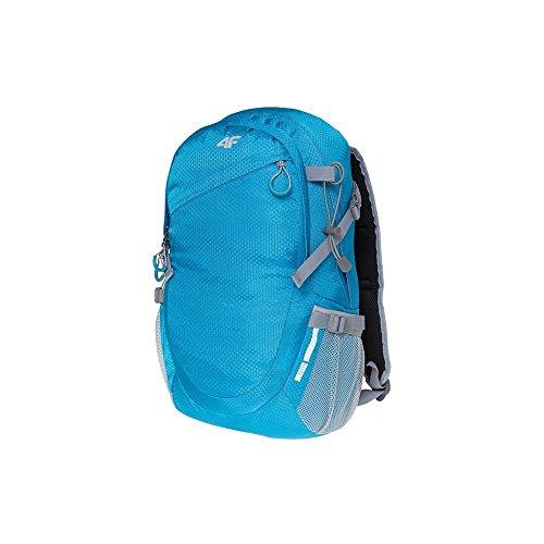 4F Rucksack für Frauen Männer Kinder Schulrucksack Cityrucksack Daypack Backpack 20 L | PCU017 SS18 (Blau,)