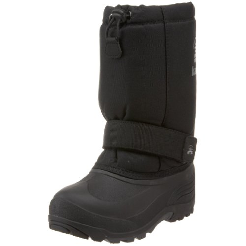 Kamik Rocket Cold Weather Boot (Toddler/Little Kid/Big Kid),Black,6 M US Big Kid