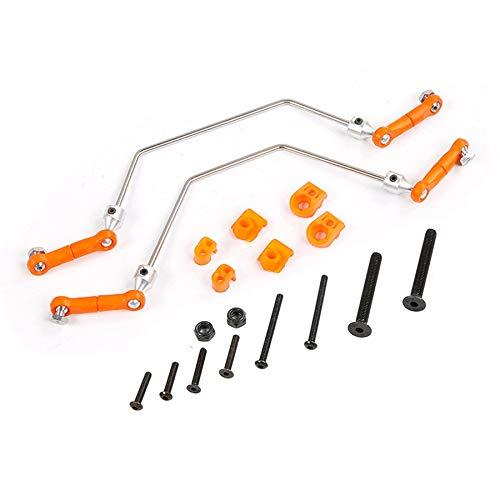 Fransande Stabilisator Stabilisator Balance Bar Set Passend für 1/5 HPI ROVAN Baja 5B 5T 5SC Teil 1/5 RC Auto Teil Orange