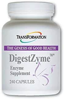 Transformation Enzymes DigestZyme - Support Digestion During Pregnancy and Lactation and Children's Digestive Issue (240)