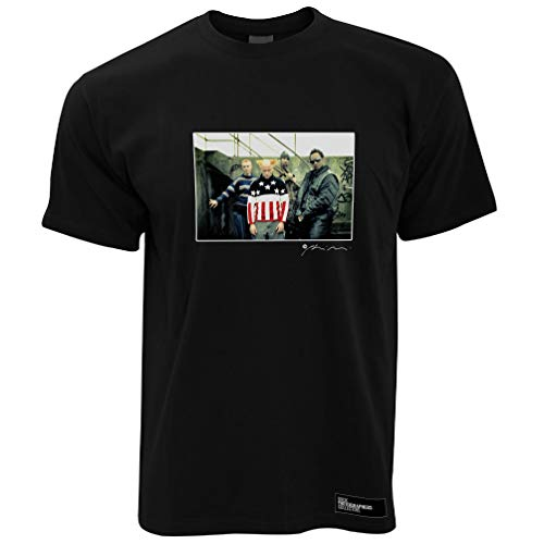 The Prodigy Herren T-Shirt Full Colour Firestarter - Schwarz/M