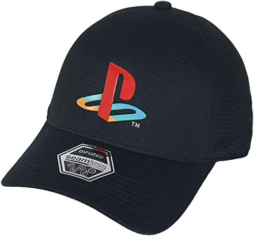 Difuzed Playstation Baseball Cap Logo Sony Beanies Caps