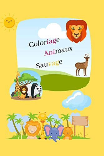 coloriage enfants animaux sauvage: les animaux de la savane a colorier pour les enfants
