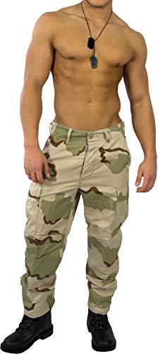 normani US Rangerhose Freizeithose Rangerhose BDU Style Farbe 3-Color-Desert Größe 4XL