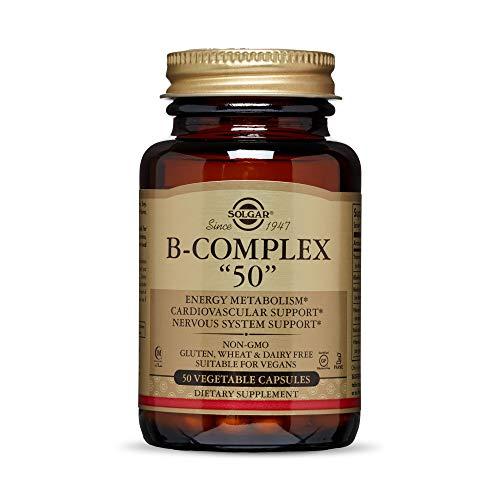 Solgar Vitamina B-Complex ''50'' Cápsulas vegetales - Envase de 50