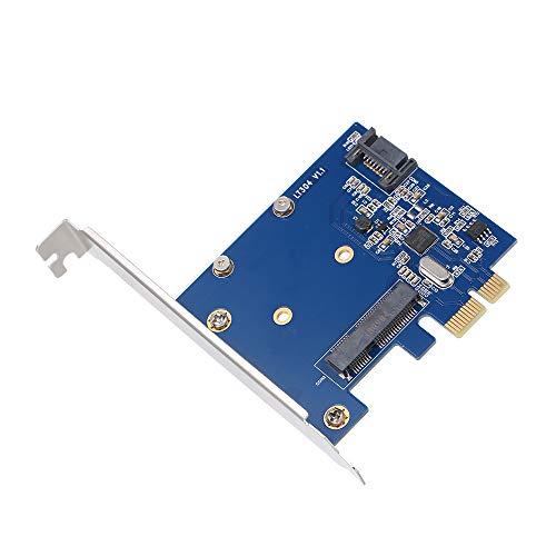 Docooler Erweiterungskarte Controller PCIe Zu MSATA SSD SATA 3.0-Kombination Konverter für PC-Desktop