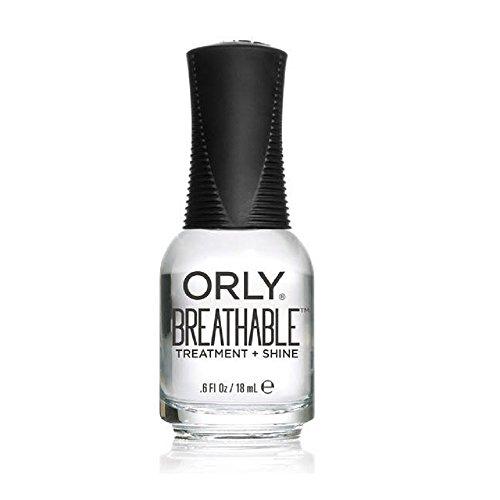 Orly Breathable Nail Color, Treatment + Shine'Clear Coat', 0.6 Fluid Ounce, 24903 - Treatment Shine Top (W-C-12373)
