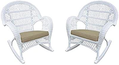 Amazon.com: kouboo 1110023 Grand pecock Cojín de silla con ...