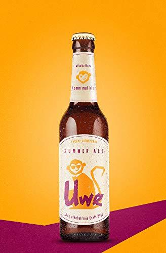 Uwe – das alkoholfreie Craft Bier   Summer Ale   6 x 0,33l