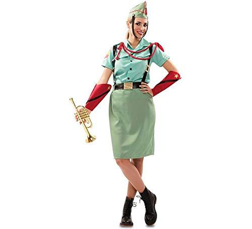 EUROCARNAVALES Disfraz de Legionaria Española para Mujer