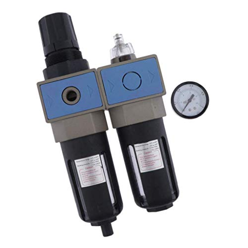 ZYL-YL 3/8 '' Filtro de aire Regulador UFR/L-03 Procesador Los componentes del compresor neumático Regulador Filtro de gas