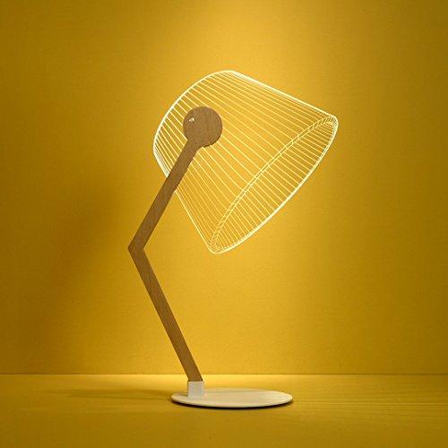 Studio Cheha Ziggy LED Tischlampe | Birke / Acryl