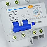 xiadsk Household air Switch Three-Phase Four-wire Leakage Protection Leakage...