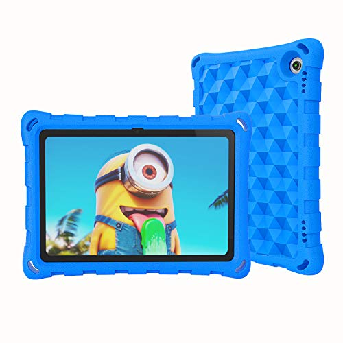 Fire HD 8 Case for Kids 2020, OQDDQO All-New Kindle Fire 8 Case 10th Generation, Hollow Corners with Double Shock Absorption, Only for 2020 New fire 8 Tablet Case and Fire HD 8 Plus case (Blue)