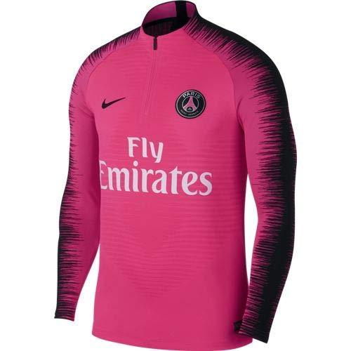 NIKE PSG M VPRKNIT STRKE Dril Top Camiseta de Manga Larga, Hombre, Hyper Pink/Hyper Pink/Black/bl, 2XL