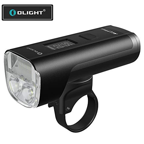 Olight ALLTY 2000 LED Frontlichter Helmlampe USB Wiederaufladbar Tagfahrlicht, Leistungsstark 2000 Lumen 165 Meter Leuchtweite, Wasserdicht, 5 Lichtmodi Gut für Off-Road, Pendeln