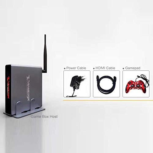 hehsd0 Spiel Kiste Bildungs Konsole 3D Kinder Tragbar Video Elektronische Aluminium Mini Handheld Retro Mit Quad Prozessor Klassisch Multi Sprache (Eu) - Eu, Free Size