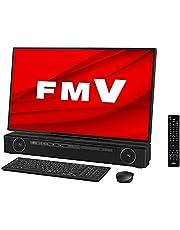 【公式】 富士通 デスクトップパソコン FMV ESPRIMO FHシリーズ WF2/E2 (Windows 10 Home/27型ワイド液晶/Core i7/8GBメモリ/約256GB SSD + 約3TB HDD + Optaneメモリ 約16GB/Blu-ray Discドライブ/Office Home and Business 2019/オーシャンブラック/TV機能付き)AZ_WF2E2_Z354/富士通WEB MART専用モデル