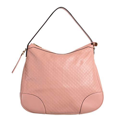 Gucci Damen Handtasche, 100 % Leder, Rosa