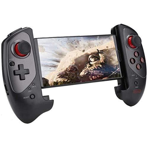 ZHANG Teléfono Móvil Tableta Smart TV Telescópico Gamepad Controlador De Juegos Teléfono/Mesa Balancín Mango Bluetooth Inalámbrico Mini
