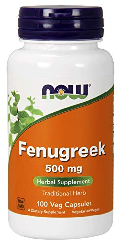Now 500mg Fenugreek 100 Veg Capsules