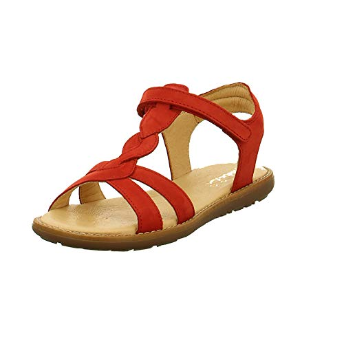 Sabalin Kinder Schuhe Kindersandale in Rot 53-2765 Rubino rot 681520