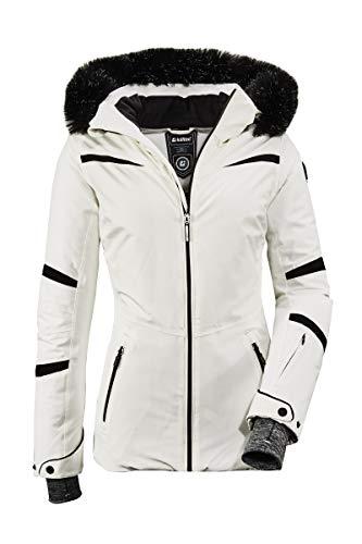 Killtec Damen Skijacke Wasilla WMN Ski Jckt H, Farbe:weiß, Größe:38