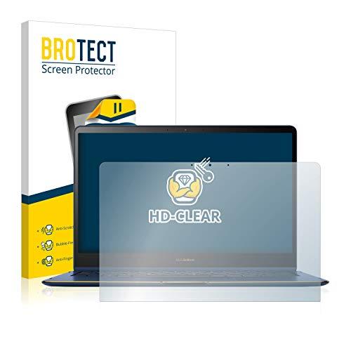 BROTECT Protector Pantalla Compatible con ASUS Zenbook Flip S UX370UA Protector Transparente Anti-Huellas
