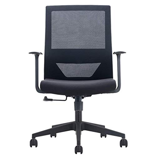 Ergonomic Office Chair High Back Mesh Desk Chair with Arm Rests Computer Chair Height Adjustable and Head Support (Color : A)