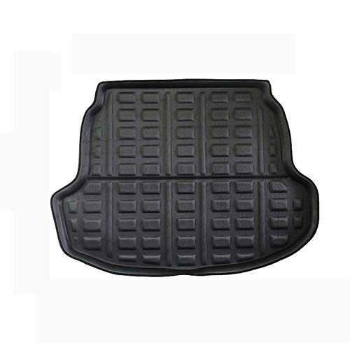 Qgg Car Rear Trunk Luggage Mat Cargo Tray Boot Liner Fit for Toyota Corolla Sedan E210 Auto Carpet Protector Floor Anti-dirty,Leather heavy duty rugs Car trunk mat