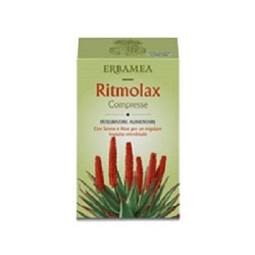 RITMOLAX 100 compresse da 480 mg. Lassativo con senna, aloe, menta, finocchio, inulina, carvi
