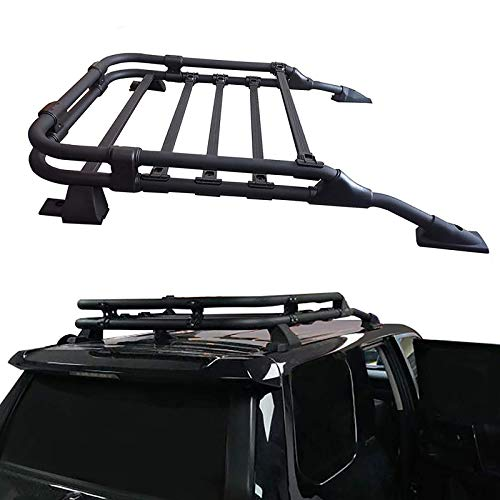 ANTS PART Roof Rack Rooftop Cargo Basket for 2010-2021 Toyota 4Runner Cargo Carrier Luggage Cargo...