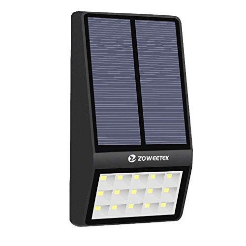 Lámpara solar 15 leds Zoweetek