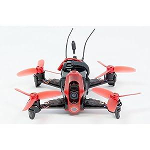 Walkera 15004150–FPV Racing de cuadricóptero Rodeo 110RTF–FPV de dron con cámara HD, Goggle Gafas de vídeo V4, batería, Cargador y Control Remoto Devo 7