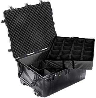 Pelican 1690 Transport Case With Dividers (Black)