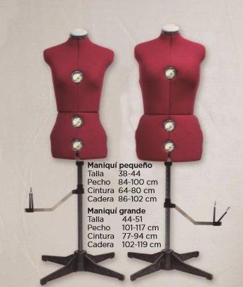 Maniquí Ajustable para modista Sewmaq M/L 099194